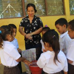 Keeping kids healthy in Timor during COVID-19