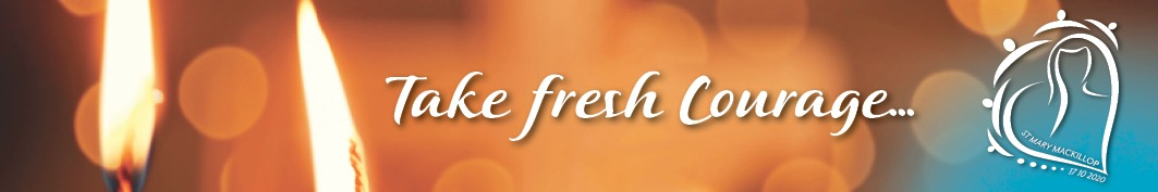 Image: Banner for Take Fresh Courage